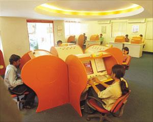Интернет-кафе популярной сети Sify