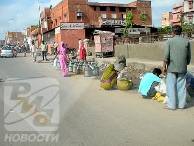 На улицах Джайпура.