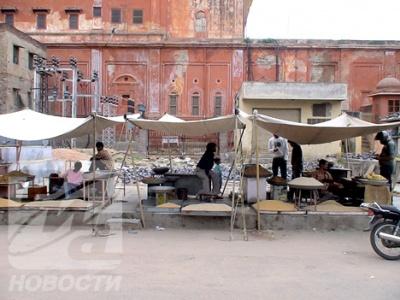 Джайпур. Один из городских кварталов.