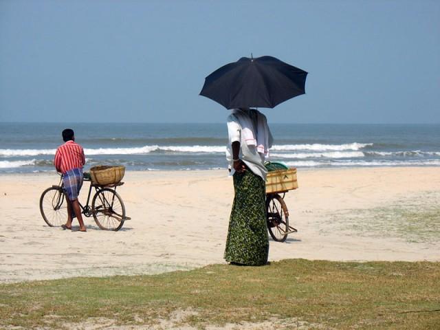 Пляж Мужапилангад недалеко от Каннура