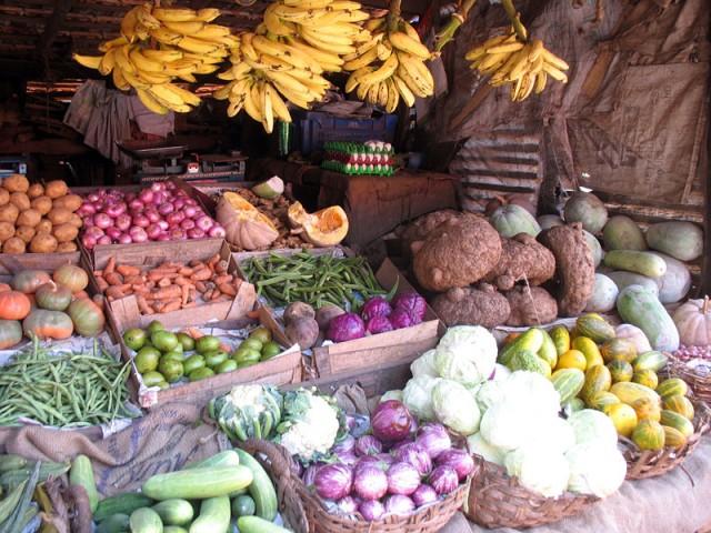 Овощная лавка в Касаргоде