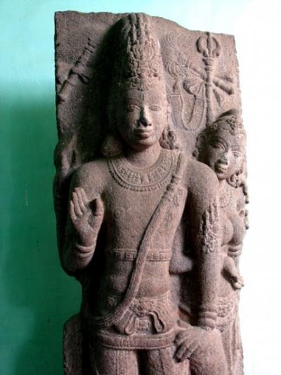 Шива и застенчивая Парвати