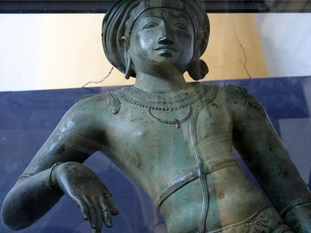 Шива. Художественная галерея в Танжавуре