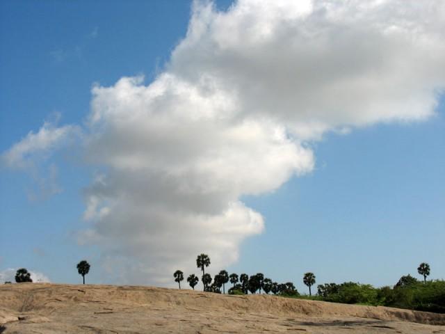 Пейзаж в Мамалапураме