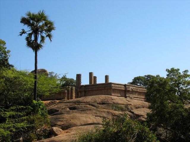 Останки храма. Мамалапурам