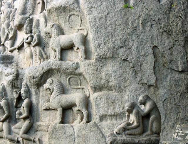 Мастера не только создавали богов, но и умели точно подмечать детали реальной жизни