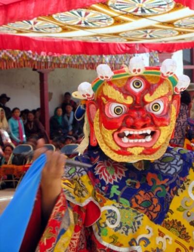 А вот одно из буддийских божеств