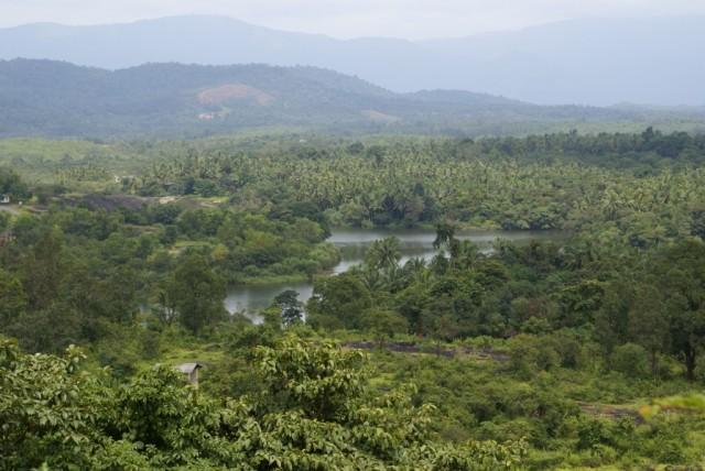 Karkal, Вид с холма