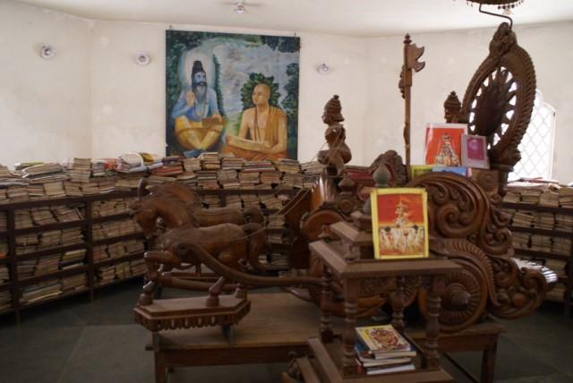 Удупи, библиотека Кришны в новом храме