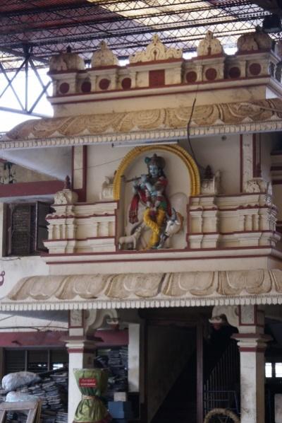 Удупи, храм Кришны, коровник