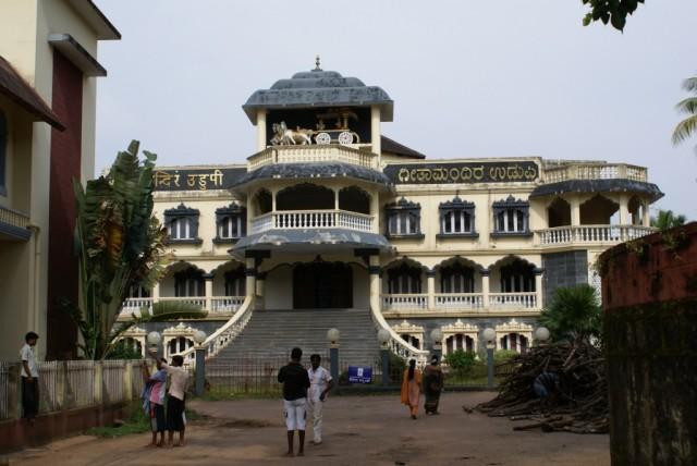 Удупи, новый храм на территории храма Кришны