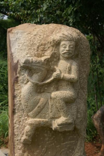 Visakhapatnam, на Каиласгирском холме