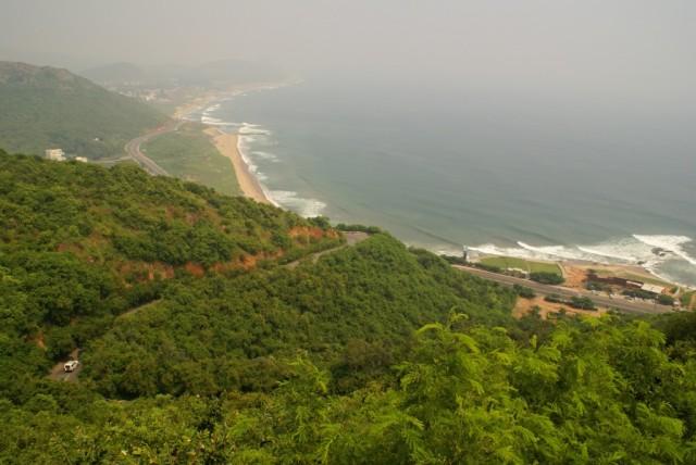Visakhapatnam, с Каиласгирского холма