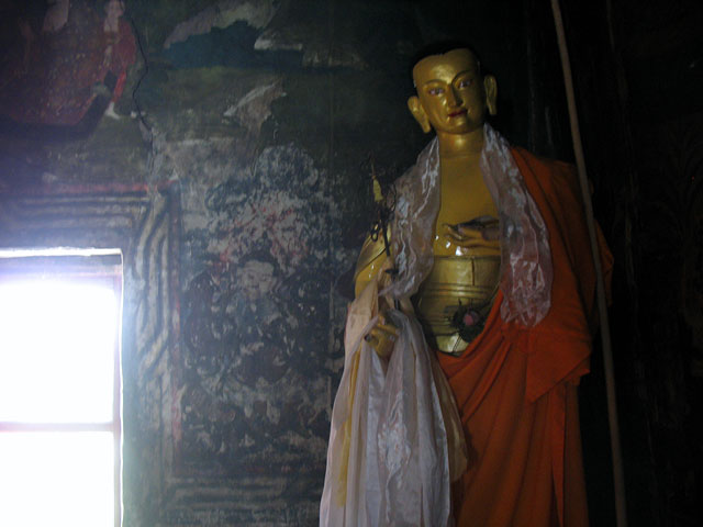 В старом монастыре, Ше, Ладакх