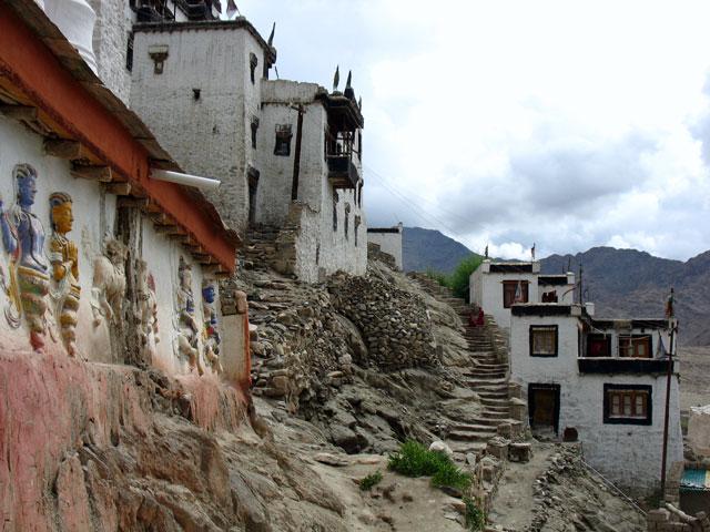 В монастыре Тикси, Ладакх
