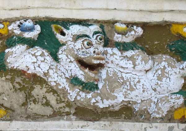 Рельеф на ступе около Алчи