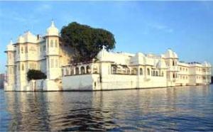 Отель-дворец в Удаипуре, Раджастан