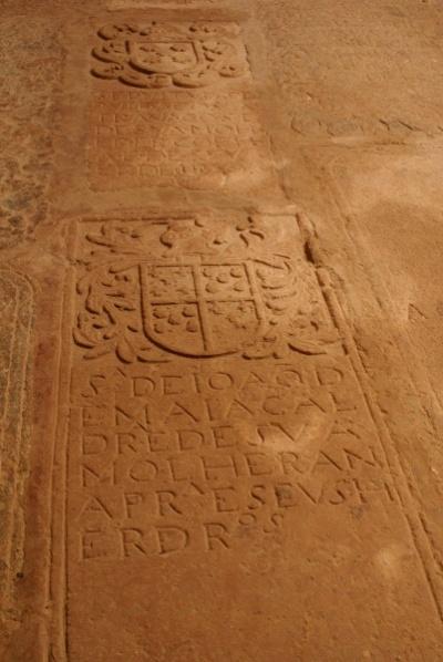 St. Francis, каменный пол храма