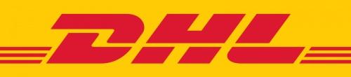 Логотип курьерской службы DHL