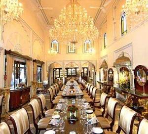 Дорогой ресторан в Джаипуре