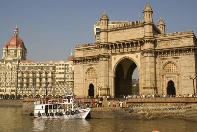 Ворота в Индию, место причала корабликов