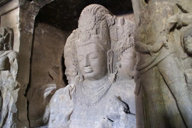 Трехголовый Шива (Shiva Maheshamurti)