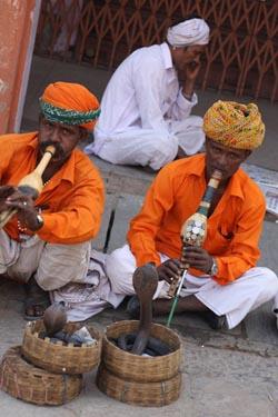 Факиры на улице Джайпура