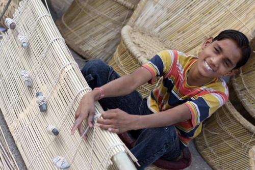 Плетение корзин и мебели — занятие весьма ответственное