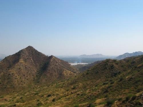 Дорога из Джайпура в Амбер