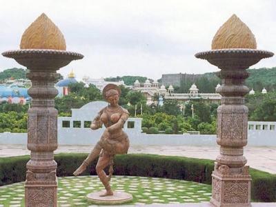 Рамоджи Филм Сити в Хайдерабаде