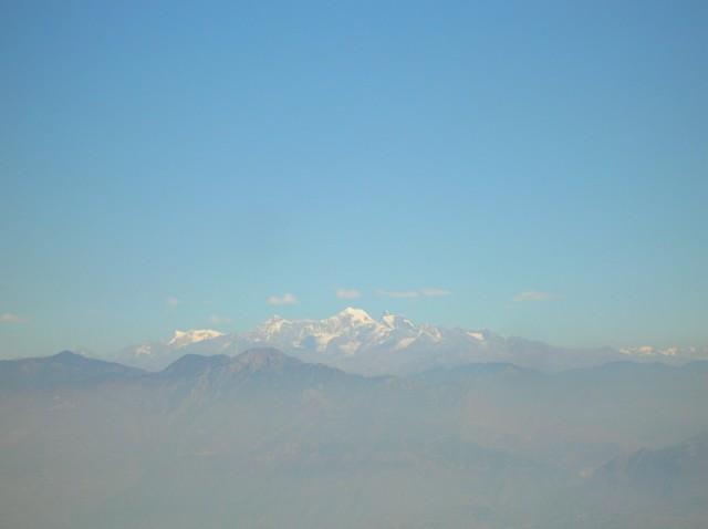 вершины Гималаев из Нью-Тери