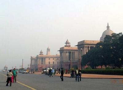 Площадь в Дели