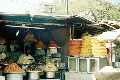 Придорожные индийские сладости, очень вкусные