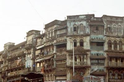 Просто жилой дом в Мумбае