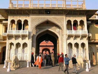 Вход во дворец Махараджи Джайпура