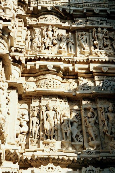 Барельеф на стенах храма Вишну