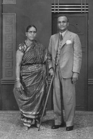 Аристократическая тамильская семья
