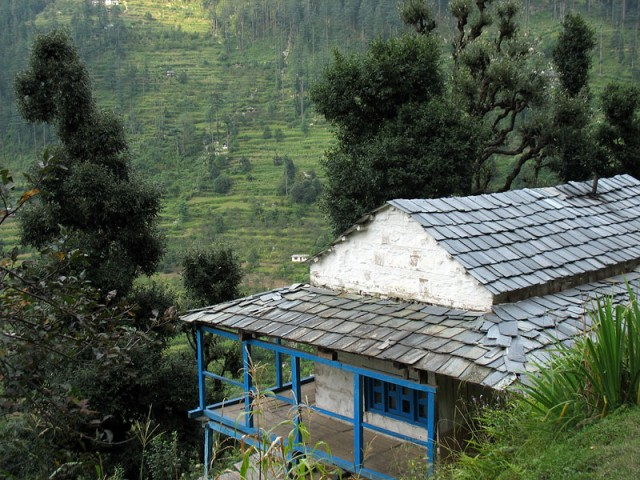 Типичный дом в долине Банджар