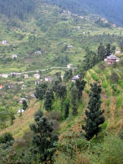 Окрестности Джиби, долина Банджар