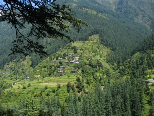 Банджарский пейзаж, окрестности Джиби