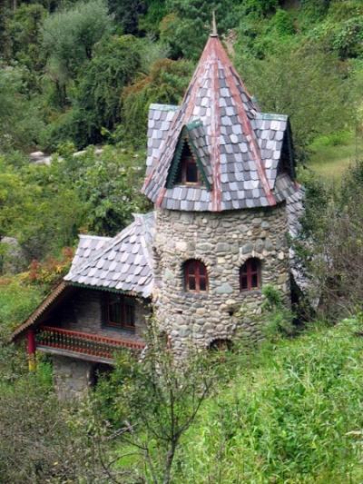 Дом-замок в Джиби. Раньше принадлежал какому-то голландцу
