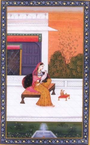 Индийская миниатюра