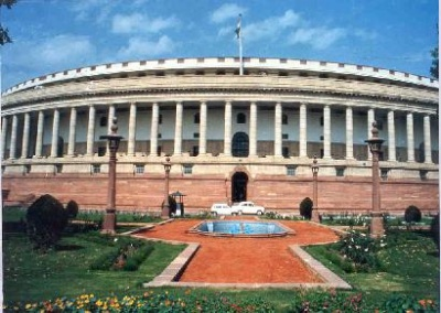 Здание Парламента в Дели