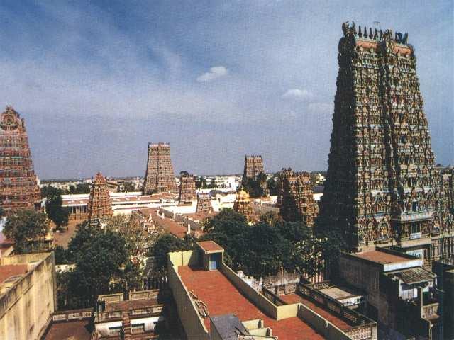 Храм Минакши в Мадурае (штат Тамилнад)