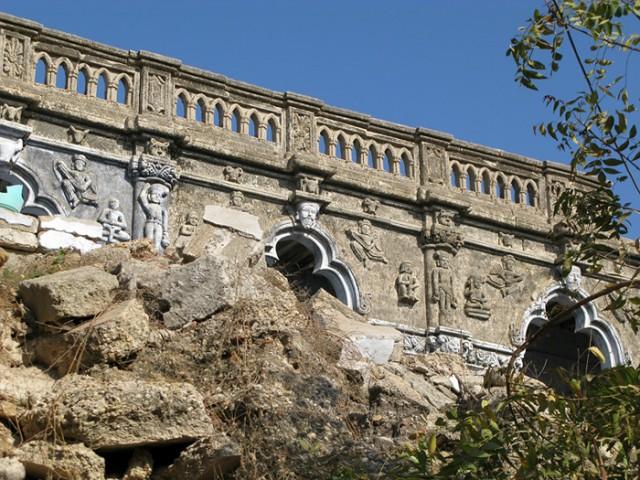 Бет Дварака. Стена храма Дваркадиш