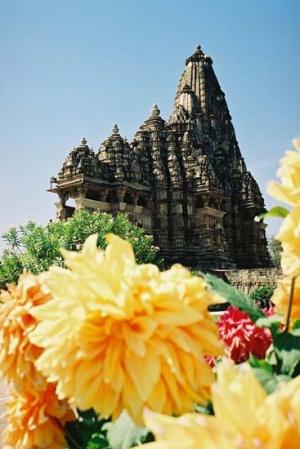 Храм в Кхаджурахо