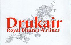 Логотип авиакомпании Druk Air
