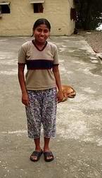 Девочка-тибетка