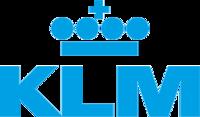 Логотип авиакомпании KLM