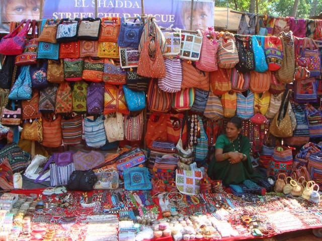 Анджуна-маркет, Гоа
